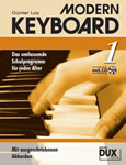 Modern Keyboard Band 1 mit CD DUX 1011A Günter Loy