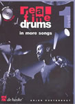 Real Time Drums in more Songs  (+CD) : for drumset (level 1)
