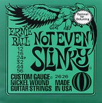 E-Gitarrensaiten Ernie Ball Not Even Slinky 12-56